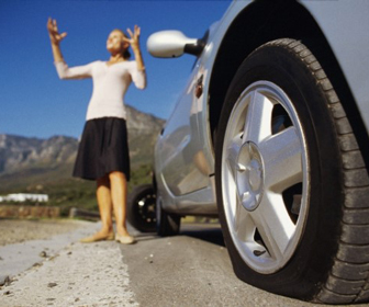 Examine your tires to avoid flats