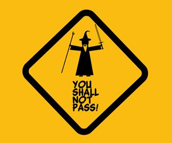 Avoid passing on mountain roads