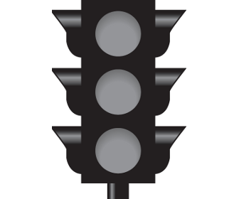 Intersection with a Non-Functioning Traffic Light