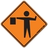 Flagger Ahead