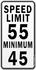 Speed Limit - Maximum & Minimum