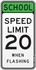 Speed Limit Lights Flashing
