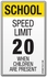Speed Limit - Children